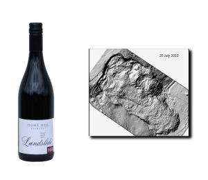 Pinot Noir Landslide (2010) and the landslide it's named after.
