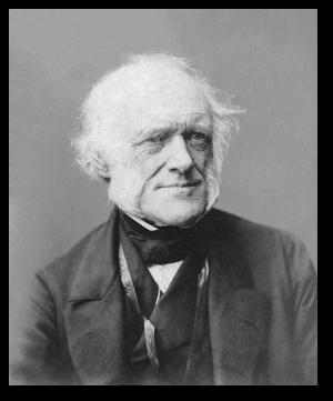 Charles Lyell between 1865 and 1870.