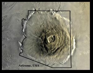 Olympus Mons NASA