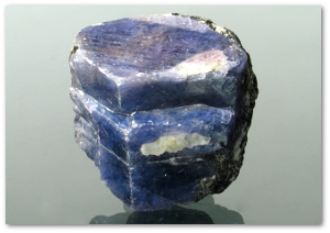 Sapphire crystal from Madagascar.  Wikipedia
