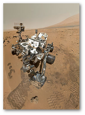 Curiosity's Space Selfie.