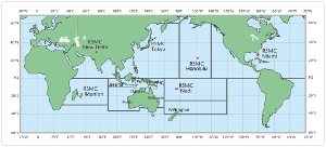 WMO Tropical Cyclone Centers.  Source