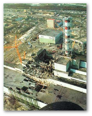 In the Chernobyl disaster, the graphite moderator reached its ignition point.  Source