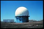 The NSSL's first Doppler radar, in 1973.  Source