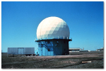 The NSSL's first Doppler radar, in 1973.  Source