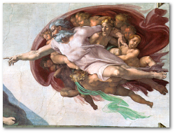 Although in the 1500s even Michelangelo had to be cagey about showing God inside the human brain.