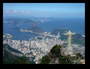 Granite formations around the coastal city of Rio de Janeiro.  Mario Roberto Durán Ortiz
