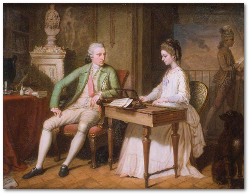 William and Catherine Hamilton.  Source