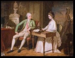 William and Catherine Hamilton.  Source