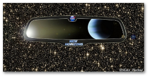 New Horizons will arrive at Pluto in July 2015.  NASA
