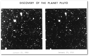 Pluto wasn't exactly Captain Obvious.  Source