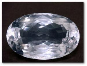 It lacks diamond's fire, but it would look pretty good on a habergeon.  Source