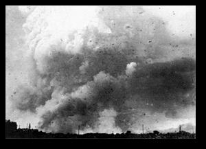The Hiroshima firestorm.