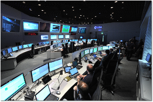Mission control for Rosetta and Philae.  ESA